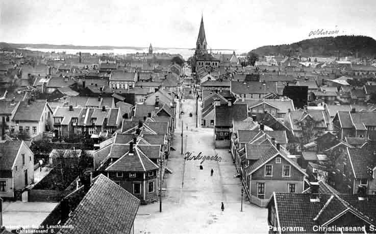 Kristiansand bergen kjørerute