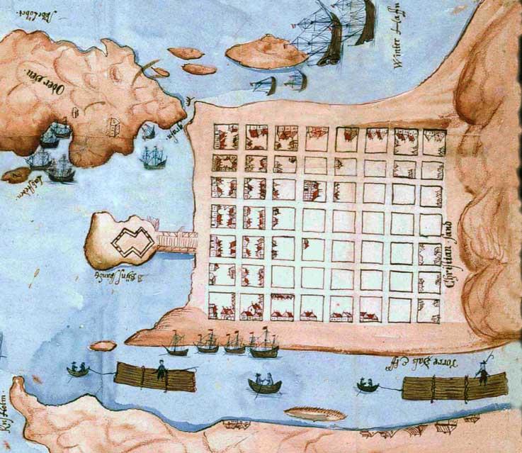 kvadraturen kart Gatene i Kristiansand kvadraturen kart